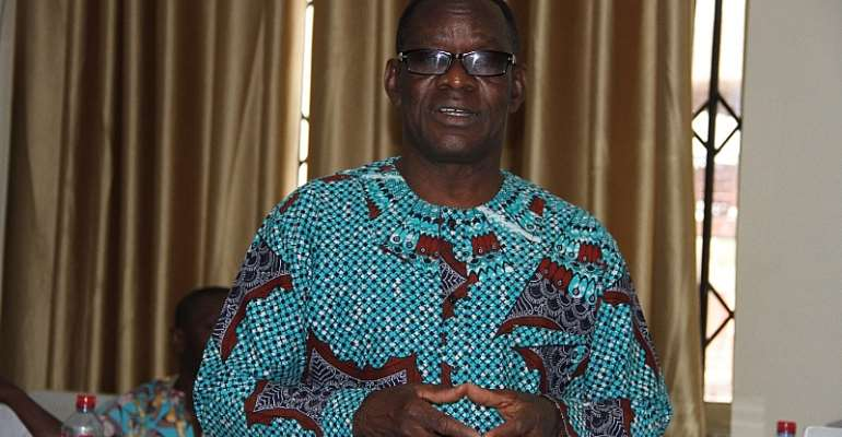Clement Kawuribi, Director of Department of Agriculture at Sissala East Municipal Assembly
