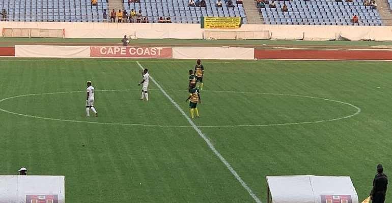 Ebusua Dwarfs Defeat Dreams FC 2-1 To Record First Win Of The Season