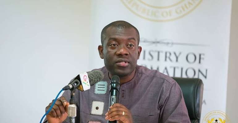 Gov't Anti-Corruption Efforts Yielding Results – Info Minister