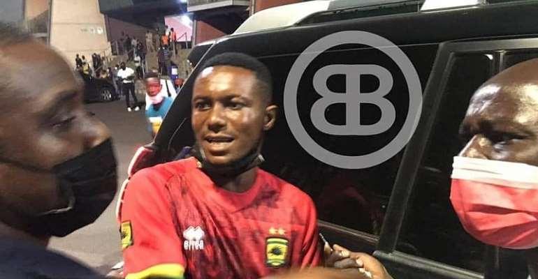 Asante Kotoko fan arrested for wearing fake Errea jersey