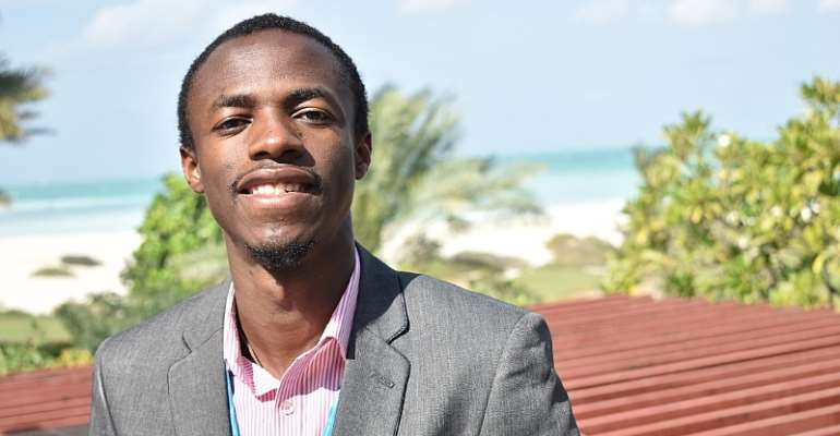 Executive Director for Green Africa Youth Organization (GAYO), Joshua Amponsem