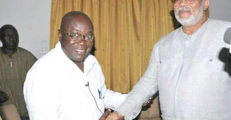 [Full text] Akufo-Addo's tribute to Jerry John Rawlings