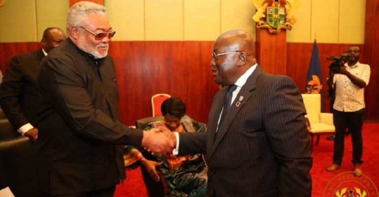 Tension between Rawlings and I ceased in 2012 – Akufo-Addo reveals