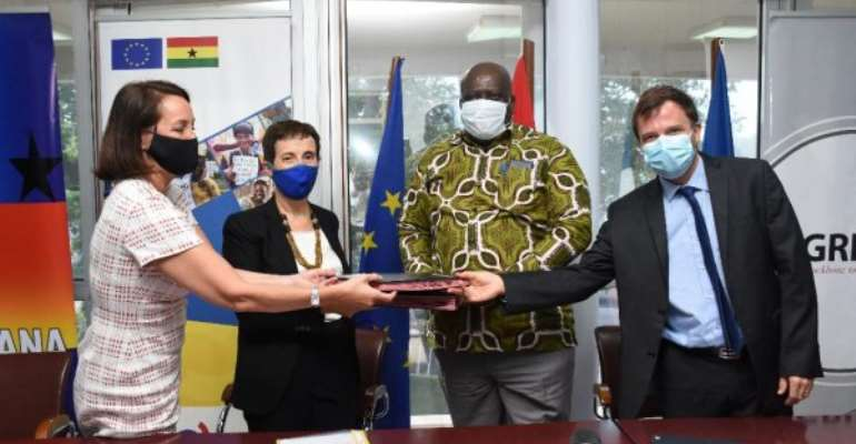 Ghana gets €9.7m EU grant to improve access to power in sub-region