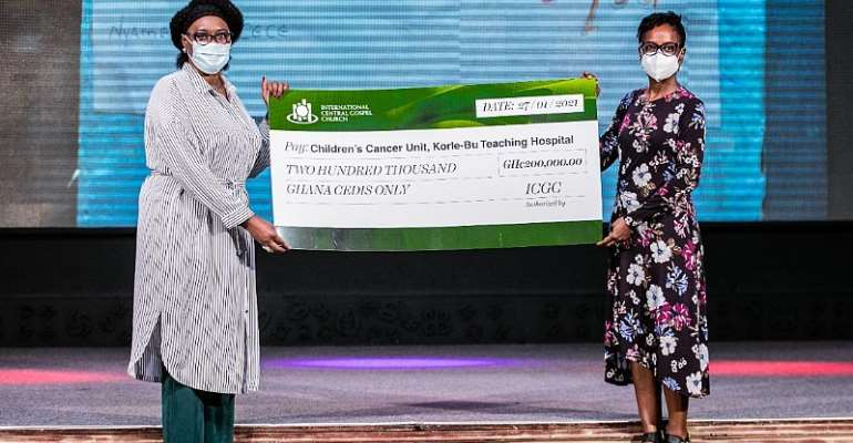 ICGC Christ Temple's support to Korle Bu Children's Cancer Unit a lifesaving gesture – Dr. Renner