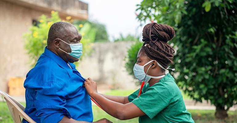 Professional home care for the elderly in Ghana has been ignored. - Source: Kwame Amo/Shutterstock