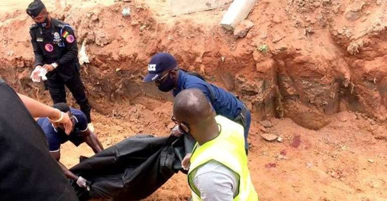 E/R: Boy drown in mining pit at Anyinam