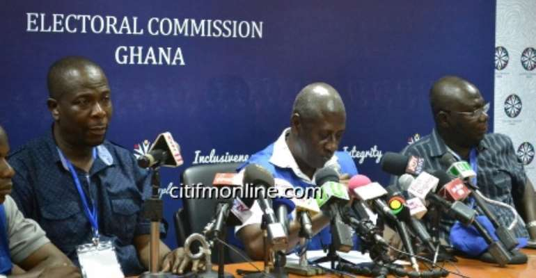 #GhElections: Don't declare election results – EC to parties