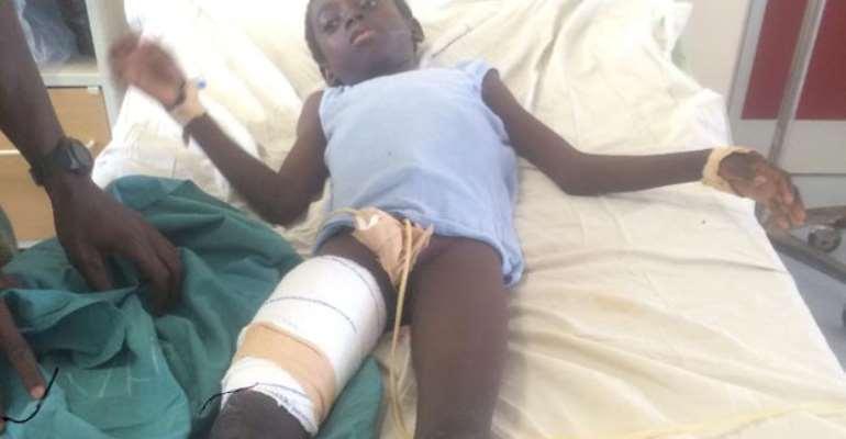 Waachribu Adam at Tamale Teaching Hospital