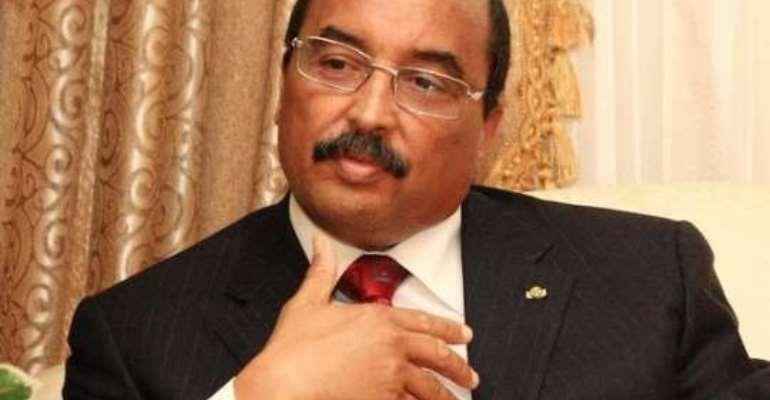 President Of Mauritania Decries Slavery Problem