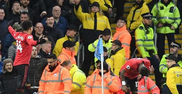 PL: Man Arrested Over 'Racist Gesture' At Manchester Derby