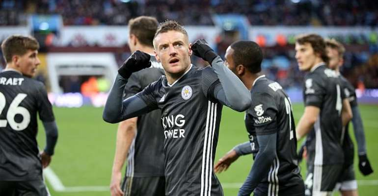 PL: Leicester Break Club Record With Win At Villa