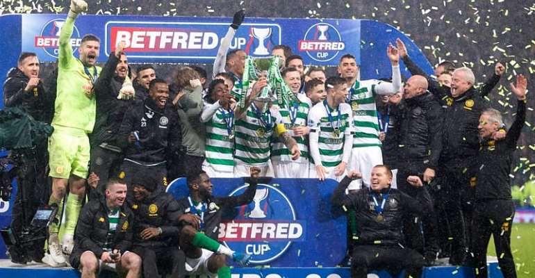 Ten-Man Celtic Beat Rangers To Win League Cup