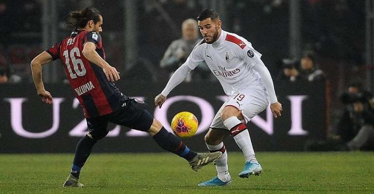 Serie A: Milan Cling On At Bologna After Hernandez Scores At Both Ends