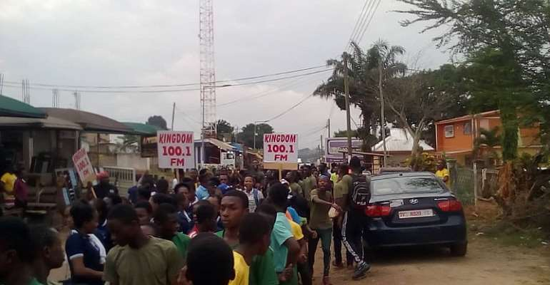 Thousands Turn Up For Kingdom FM Health Walk In Kumasi