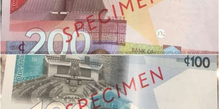 Minority questions design of new cedi notes; says notes will promote crime