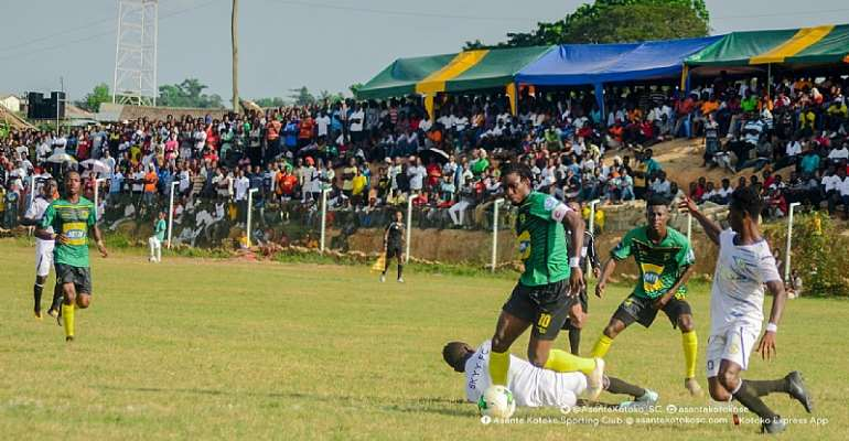 Kotoko's Friendly Match With Skyy FC End Goalless