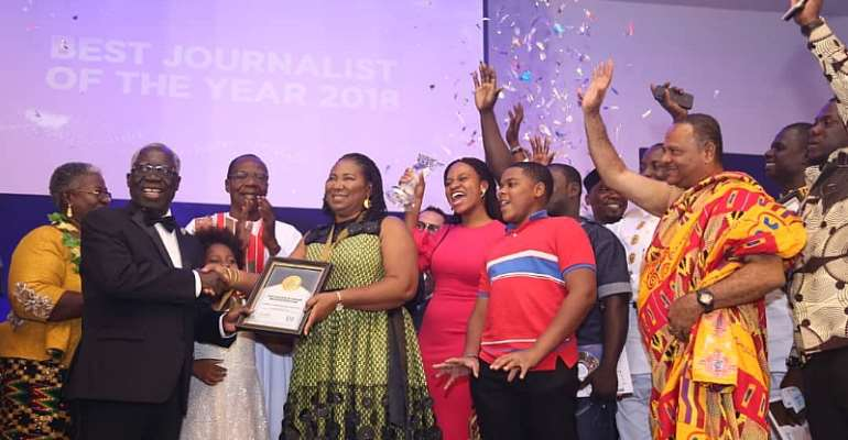 Doreen Hammond, the newly crowned GJA Journalist of the Year