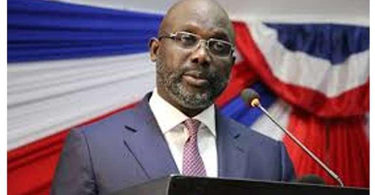 President George Manneh Weah, Liberia