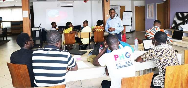 16 Innovators Of Ghana's Youthconnekt Kick-Start Business Incubation, Mentorship