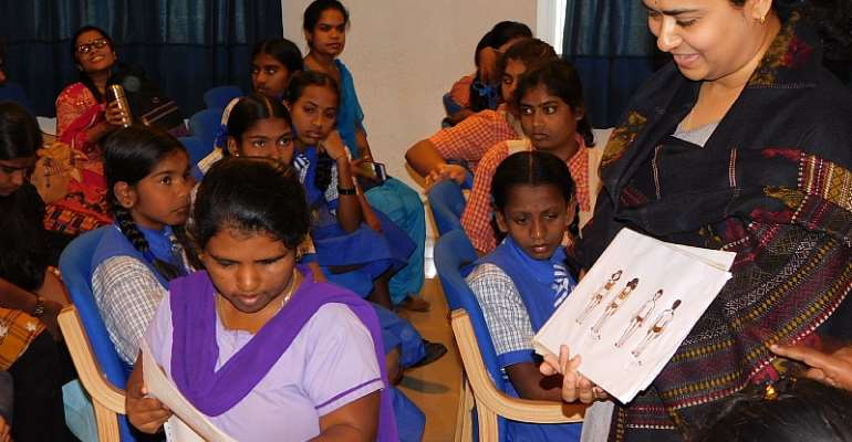 Sankara Eye Hospital Holds Child Sexual Abuse Awareness Workshop For Specially Challenged Girl Children