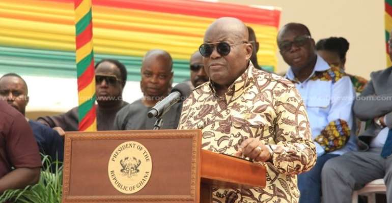 Akufo-Addo Warn Prank Callers Of New Emergency Number For 307 Ambulances
