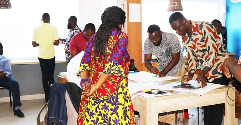 16 Innovators Of Ghana's YouthConnekt Kick-Start Business Incubation And Mentorship