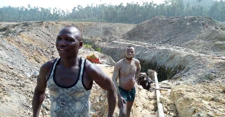 Forestry Commission Cites Powerful People Behind 'Galamsey' In Forest Reserves