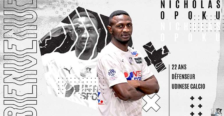 DONE DEAL: Nicholas Opoku Seals Transfer To French Ligue 1 Side Amiens SC