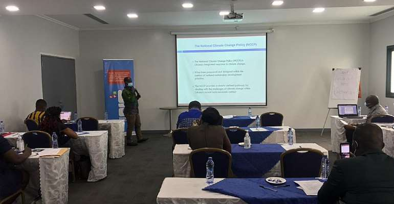 WaterAid Ghana builds capacity of media, other stakeholders on climate change