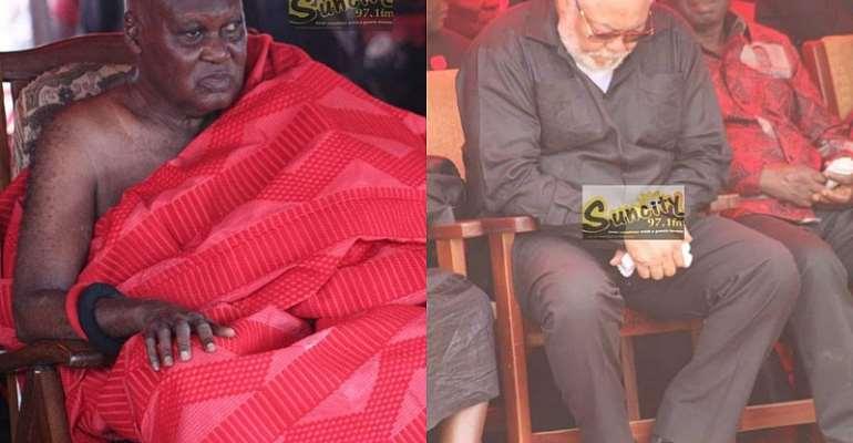 Sunyani Manhene Eulogizes Jerry John Rawlings
