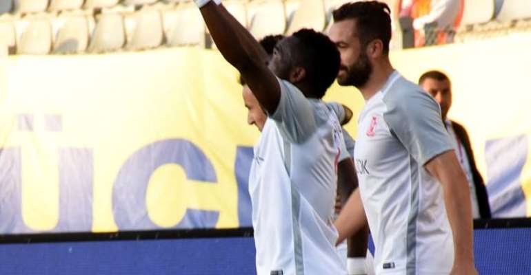 Balikesirspor Striker Mahatma Otoo Stuns Former Club With Late Leveler In Turkey