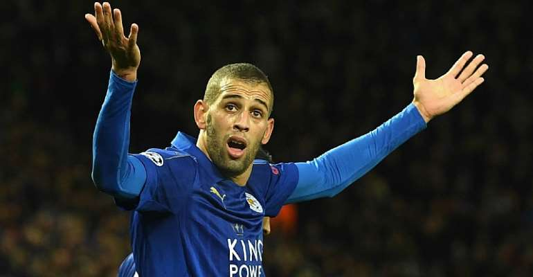 Leicester reject Chinese bid for Slimani