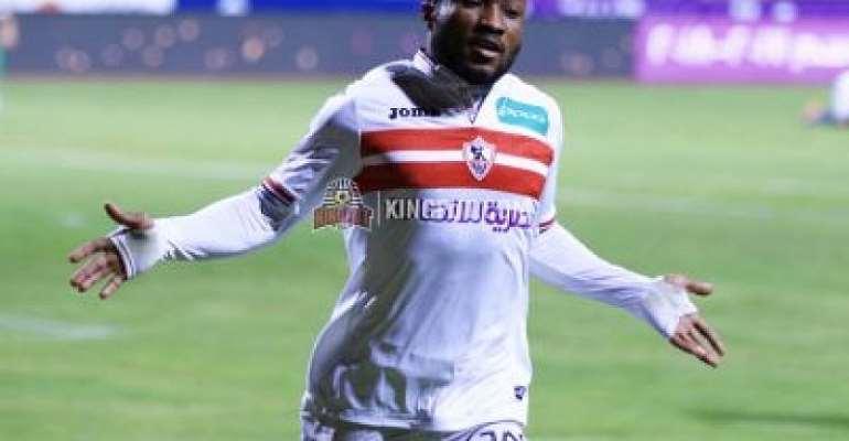 Zamalek Farm Out Ghanaian Striker Ben Acheampong To Petrojet