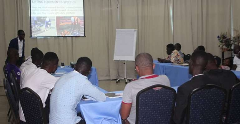 AMET Consult Hold Career Seminar For Locals In Ghana's Oil & Gas Industry