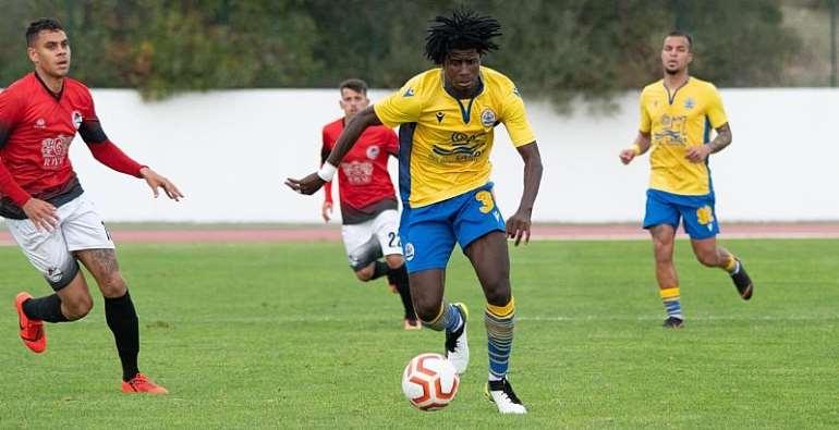 Ghana Defender Edward Sarpong Plays Full Throttle In CF Esperanca de Lagos Vital Win
