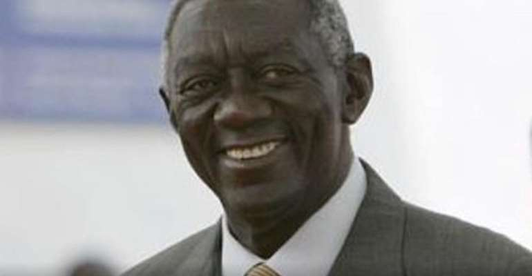 Kufuor Honoured In Agric