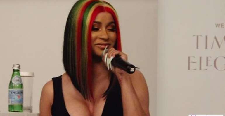 Cardi B 'Snubs' Ghanaian Celebrities