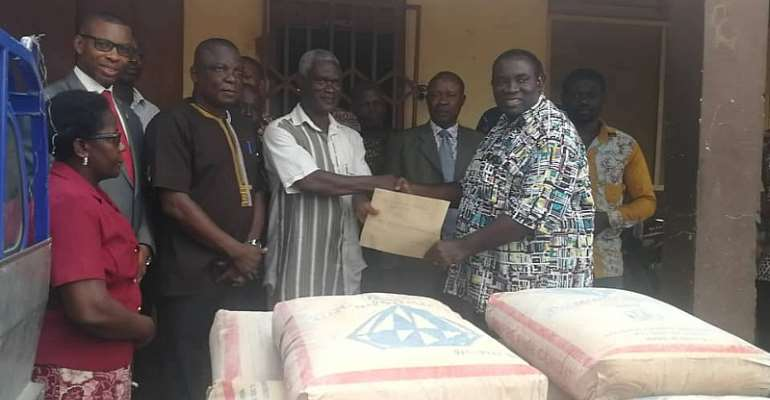 Accra: Chantan Zone Of COP Supports Experimental Schools