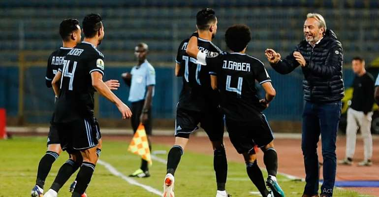 CAF CC: John Antwi On Target In Pyramids Heavy Win Over Nouadhibou