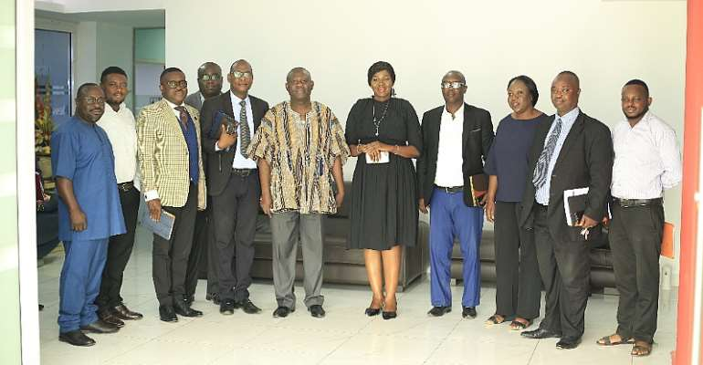 GBC Executives Call On Media General