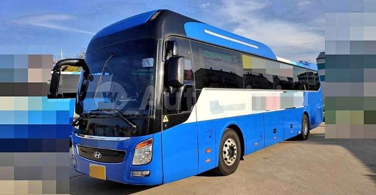 Hearts of Oak New Bus Arrives, Undergoing Rebranding [PHOTOS]