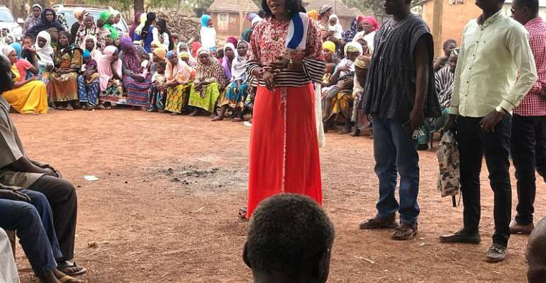 NPP PC For The Sagnarigu Constituency Supports Her People