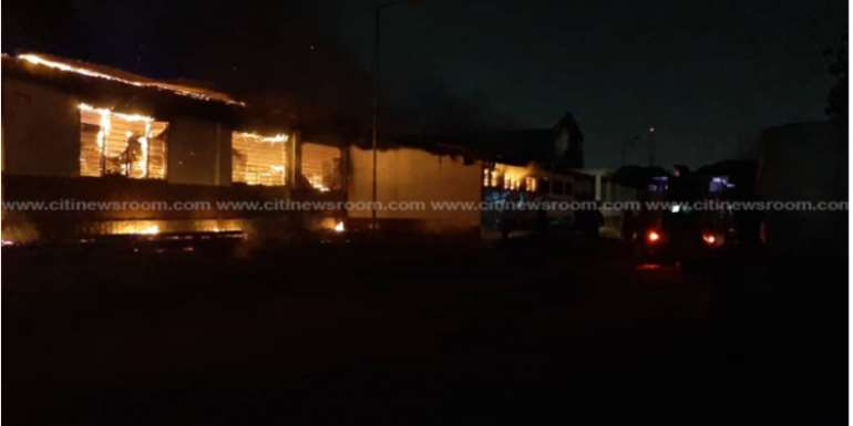 Fire Service Open Probe Into Accra Academy's Second Fire Outbreak