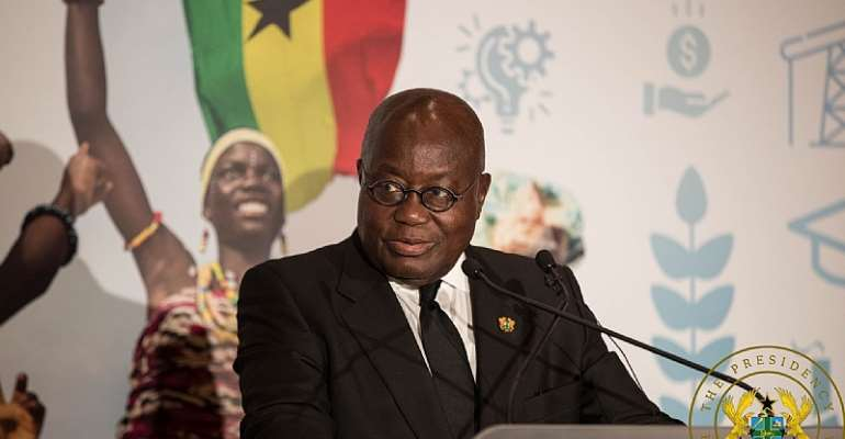 Report Corrupt Appointees To Me — Akufo-Addo Tells Diplomatic Corps