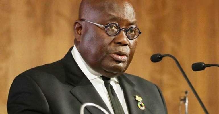 The Ghanaian president, Akufo Addo