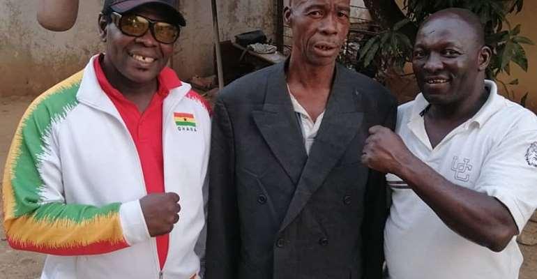 Coach Dr. Ofori Asare Tours Brong Ahafo Region Gyms
