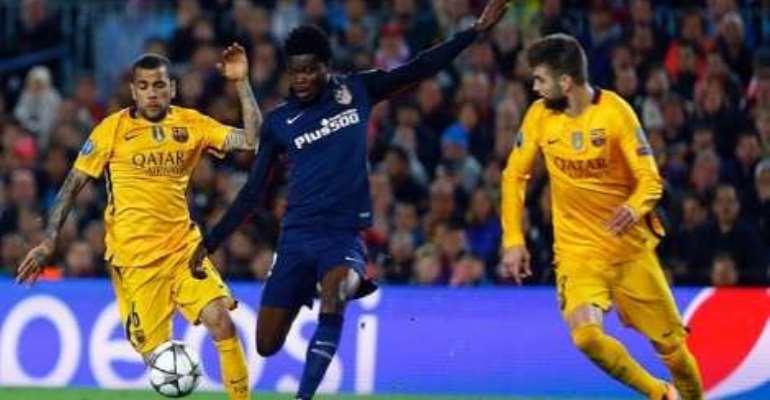 Thomas Teye Partey: 'Atletico will stun Barcelona at the Calderon'