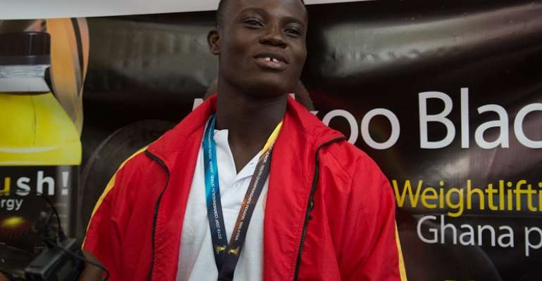 Top Weightlifter Christian Amoah To Train In Us
