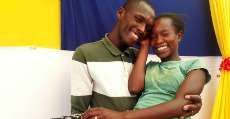 Kenyan couple hailed online for low-budget modest wedding